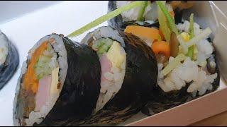 식단:베이글&스크램블에그, 김밥&밤식빵,…