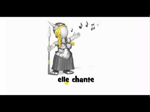 How to pronounce elle chante youtube for Elle pronunciation