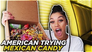 AMERICAN TRYING MEXICAN CANDY!! | Biannca Prince