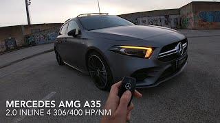 Mercedes AMG A35 POV DRIVE