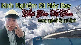 Kinh Nghiệm | Đi Máy Bay Từ Nhật Về Việt Nam