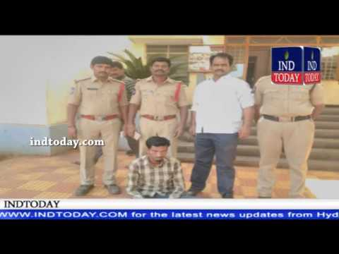 Zaheerabad Police arrested Financier