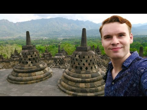 INDONESIA'S BREATHTAKING TEMPLES OF JAVA 🇮🇩 PRAMBANAN & BOROBUDUR