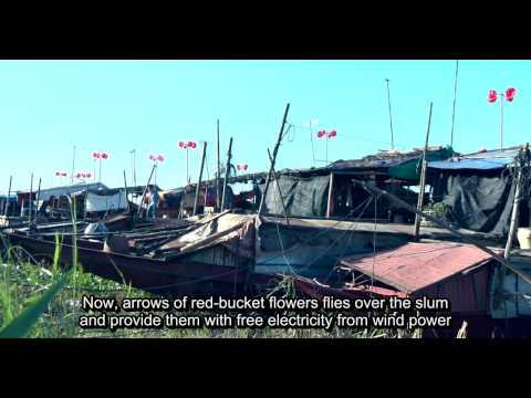 Red-flower wind power project in Hanoi, Vietnam