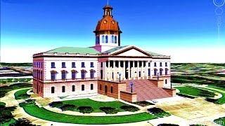 historical places of south carolina state u s a in google earth