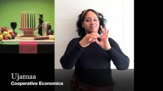 The Seven Principles of Kwanzaa - Sign Language