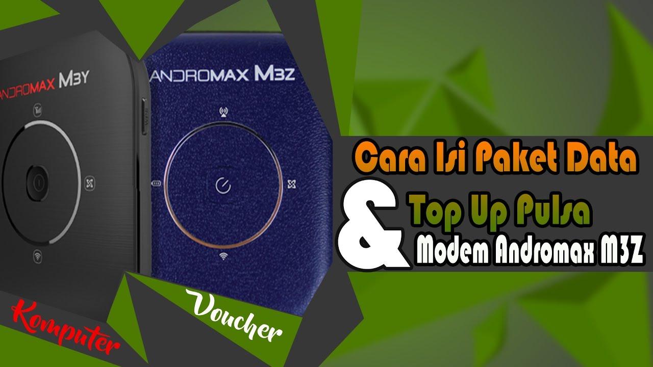 Cara Top Up Pulsa Voucher Modem Mifi M3z Youtube Vocher Data 3gb Smartfren How To