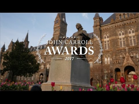 Georgetown University John Carroll Awards 2017