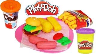 Play Doh Oyun Hamuru | Burger Set Oyuncak Tanıtımı | EvcilikTV