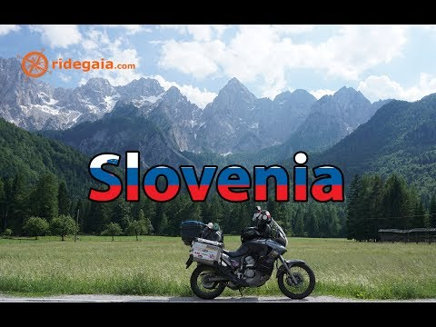 Ep 46 - Slovenia - Motorcycle Trip around Europe - Honda Transalp 700