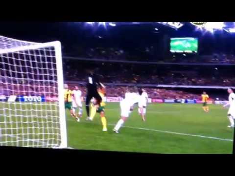 Lucas Neill goal Jordan Vs Australia ,World Cup Qualifier