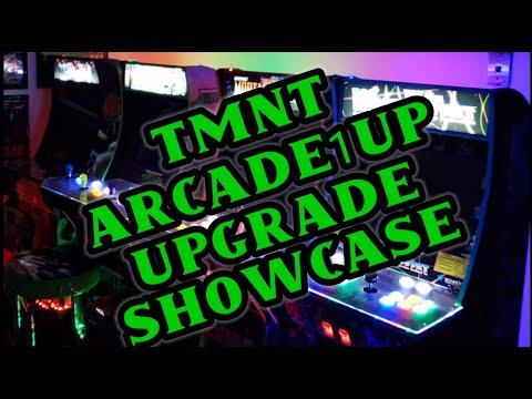 TMNT Teenage Mutant Ninja Turtles Arcade1up Upgrade Mod 2021 Update from Vaux Talks