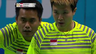 Dubai World Superseries Finals 2017 | Badminton Day 2 M5-XD | Ahm/Nat vs Tan/Lai