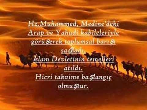 Peygamber Efendimiz Hz. Muhammed (S.A.V.) in kısaca hayatı - YouTube