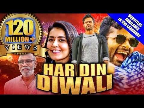 har-din-diwali-(prati-roju-pandage)-2020-new-released-hindi-dubbed-movie-|-sai-tej,-rashi-khanna