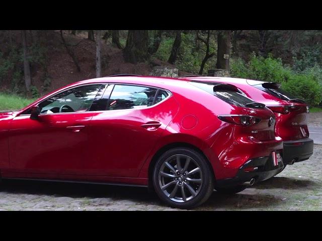 Mazda 3 y Mazda CX30