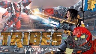 Обзор Tribes Vengeance + история серии Tribes | Скользим и ничего не боимся
