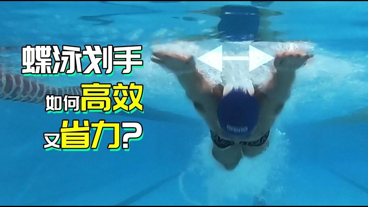 蝶泳手應該怎么劃 ?蝶泳手部動作詳解—K爺游泳課 - YouTube