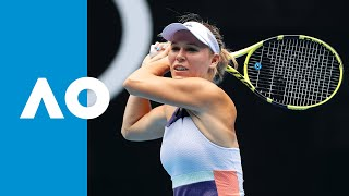 Kristie Ahn vs. Caroline Wozniacki - Match Highlights | Australian Open 2020