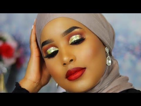 Makeup Aroos|| By Missfosiya|| Tartaanka Eey Qabatay ||Qamar Bint Amiir||