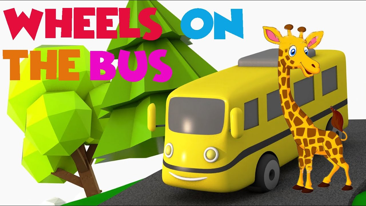 Wheels on the Bus | Best 2019 song for little babys