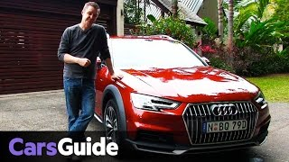 Audi A4 Allroad Quattro 2016 review | first drive video