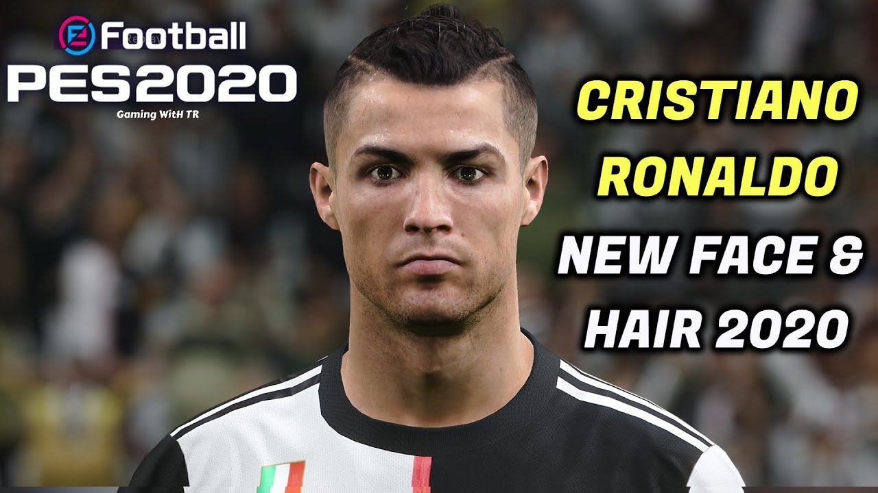 Pes 2020 Cristiano Ronaldo New Face 2020 New Hair 2020 Gaming With Tr