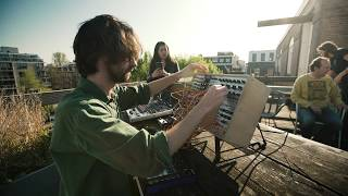Modular on the roof: Easter Jam