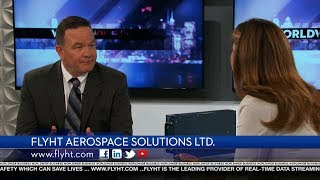 flyht aerospace solutions featured on worldwide business with kathy ireland
