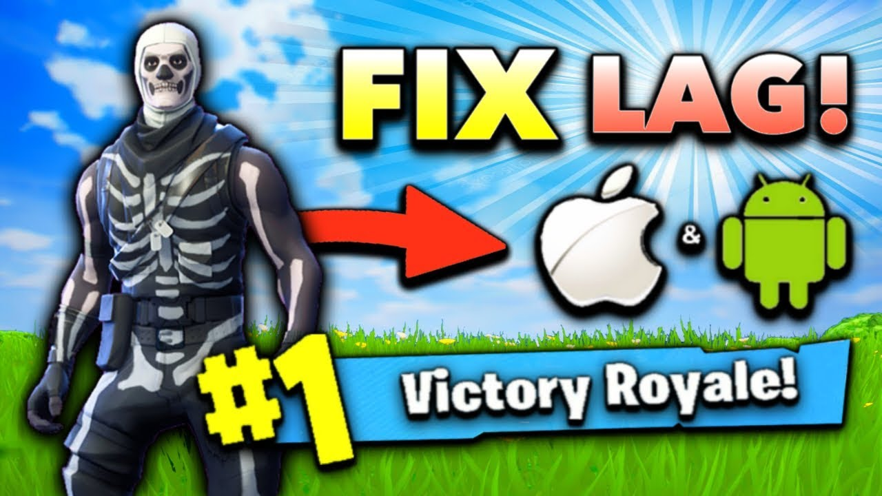 How to FIX LAG in Fortnite Mobile! (MAX FPS Tips and Tricks)