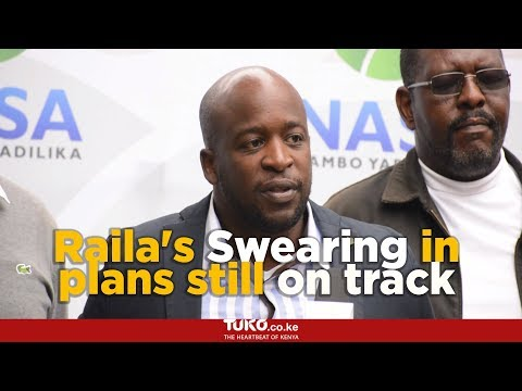 Raila Odinga's 'Swearing in' Unstoppable