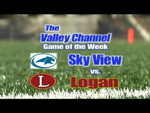 Sky View High School at Logan High School football game 9-28-17