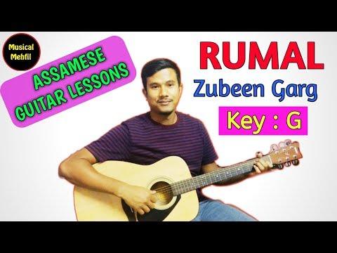 Rumal | Zubeen Garg | Assamese guitar lesson