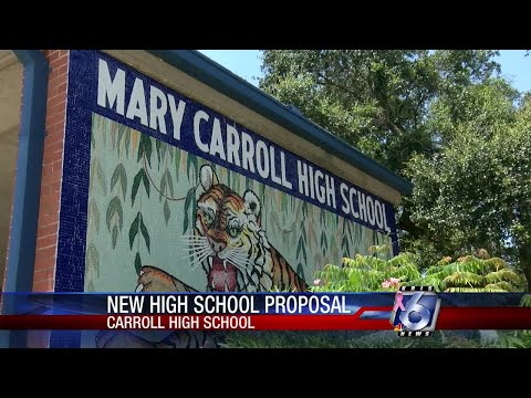 CCISD proposing potential new Carroll High School campus