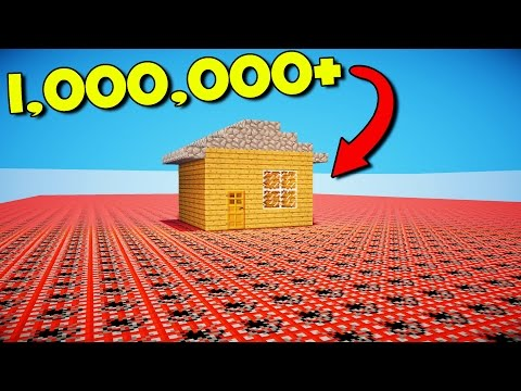 HOW MUCH TNT DOES IT TAKE TO EXPLODE THIS HOUSE!?