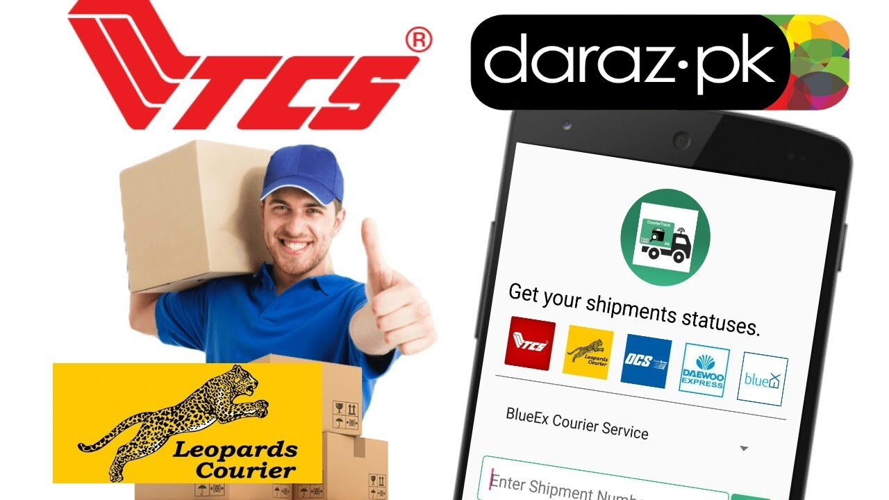 Track Your Courier PACKAGE || TCS, LEOPARDS COURIER Online Tracking