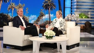 Ellen Welcomes Transcendental Meditation Expert Bob Roth