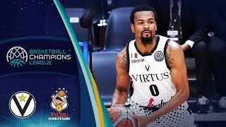 Segafredo virtus bologna v filou oostende - full game gd 2 basketball champions league 2018-19