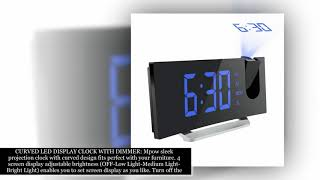 MPOW PROJECTION CLOCK