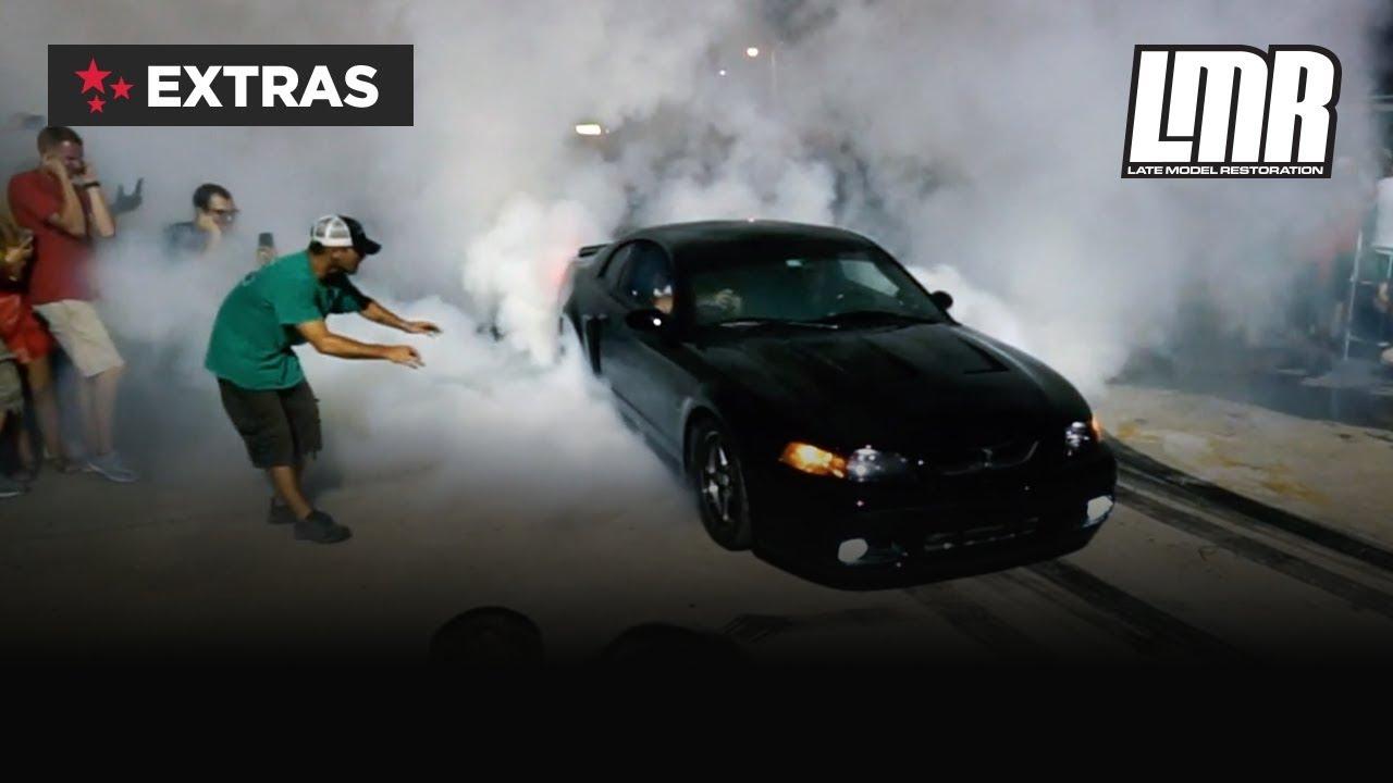 Terminator Mustang Burnout
