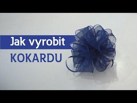 Jak vyrobit mašli - kokarda