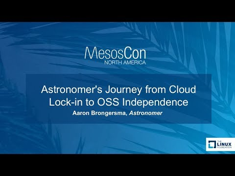 Astronomer's Journey from Cloud Lock-in to OSS Independence