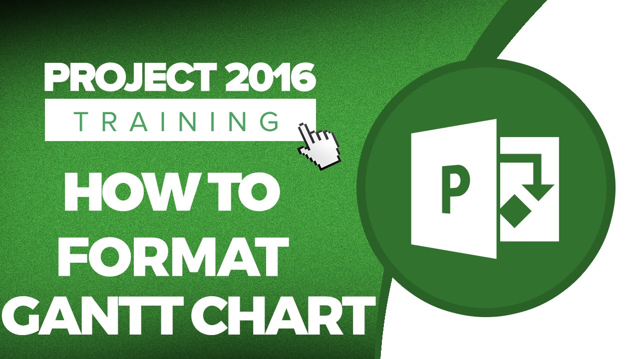 Microsoft project 2016 training how to format a gantt chart microsoft project 2016 training how to format a gantt chart youtube nvjuhfo Choice Image