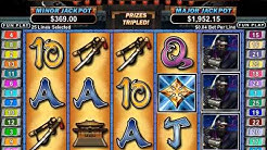 Ninja Star Slots 3x Re-triggered Free Spins