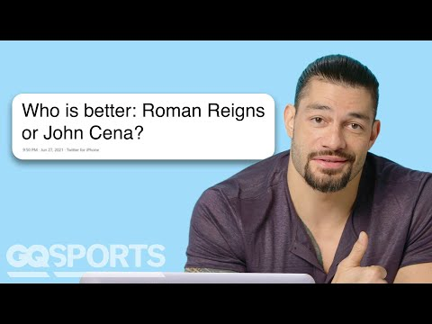 WWE Superstar Roman Reigns Goes Undercover On Reddit, Twitter And Quora | GQ Sports