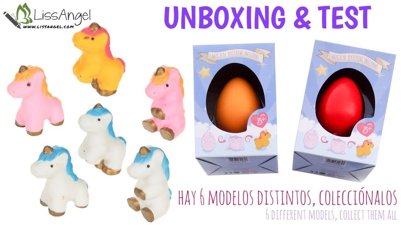 Huevos De Unicornio Sumergibles En Agua Youtube