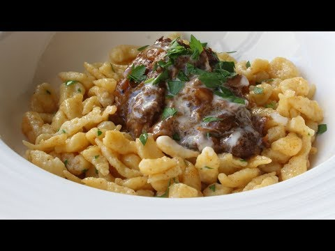 Spätzle Recipe - How to Make Spätzle or Spaetzle (Tiny German Dumplings)