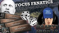 Hearts of Iron 4: FOCUS FANATICS - AI CHOOSING ANY FOCUS, INSTANT COMPLETION (Observation Game)