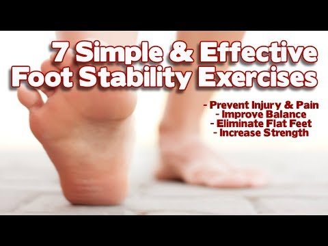 Foot Stability Part 2 - Step By Step Exercise Solutions For Correcting Weak Feet