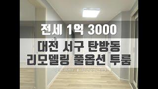 LH가능한 리모델링 풀옵션 투룸 전세!! (대전 서구 …